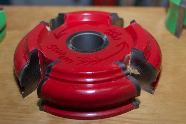 Fresa para moldura, diámetro 250 mm